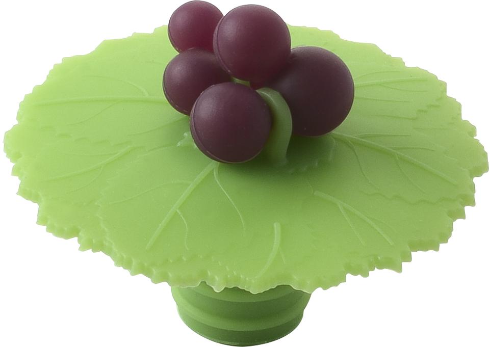 Пробка для бытулки Charles Viancin Grape5249Выполнена из силикона, который устойчив к растворам солей, кипящей воде, спиртам, фенолам. Используется для герметичной укупорки бутылок, емкостей. Пробка позволит продлить жизнь напитка в уже откупоренной бутылки, сохранив его вкусовые качества и аромат.