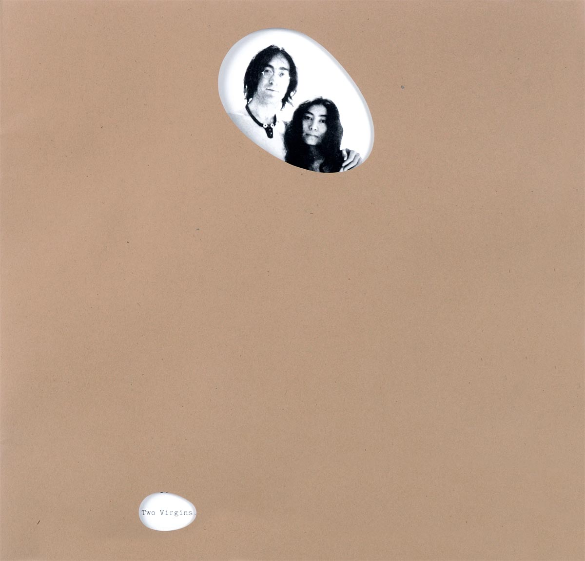 John Lennon And Yoko Ono. Unfinished Music No. 1: Two Virgins (LP)