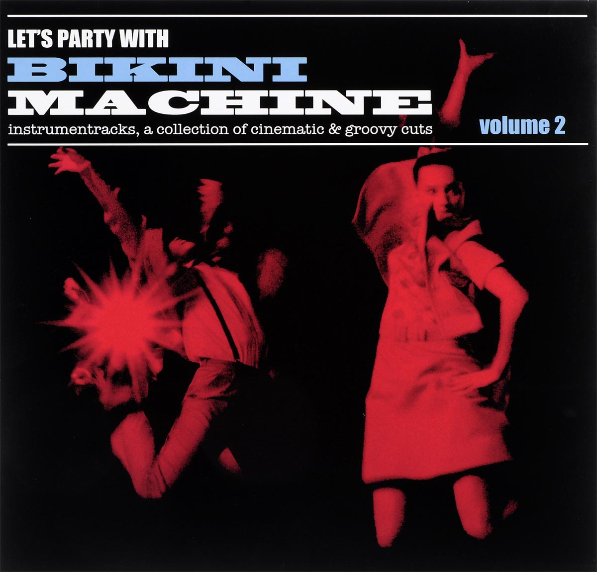 Bikini Machine Bikini Machine. Let's Party With Bikini Machine Vol.2 (LP) bow tie bandeau bikini set