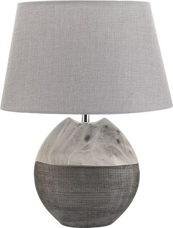Настольная лампа Elan Gallery Мраморная, цвет: серый, E27, 13 Вт. 320050320050Настольная лампа Мраморная серая 31,5 х 20 х 41 см, с серым овальным абажуром, основание - керамика Светильник в современном стиле на изящной подставке. Станет прекрасным подарком и украсит любой интерьер! Предназначен для работы в сети с напряжением 220-230 В. Используются лампы накаливания (40 Вт) и энергосберегающие лампы (9-13 Вт) Размеры: Абажур Длина 31,5 см Ширина 20 см Высота 19,5 см Лампа Длина 20 см Ширина 9,5 см Высота 27 см