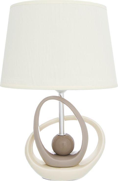 Настольная лампа Elan Gallery Бесконечность, цвет: кремовый, E27, 13 Вт. 320059320059Настольная лампа Бесконечность 26 х 19 х 39 см, с кремовым овальным абажуром, основание - керамикаНастольная лампа в современном стиле на изящной подставке. Станет прекрасным подарком и украсит любой интерьер! Предназначен для работы в сети с напряжением 220-230 В. Используются лампы накаливания (40 Вт) и энергосберегающие лампы (9-13 Вт)Размеры: Длина 26 смШирина 19 смВысота 39 см