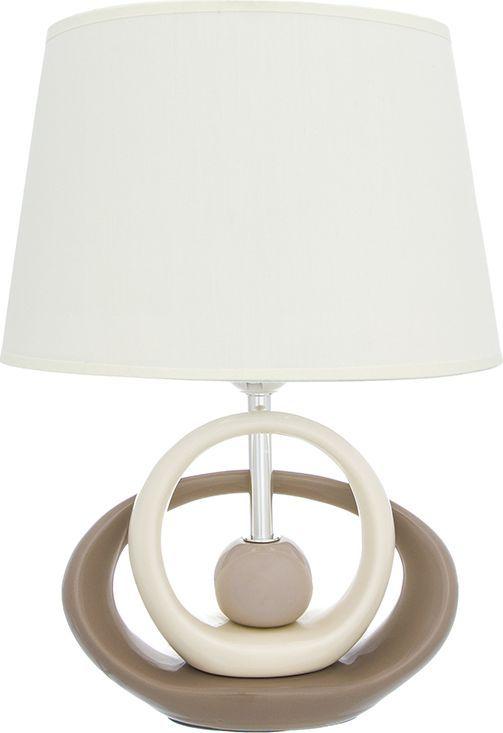 Настольная лампа Elan Gallery Бесконечность, цвет: кремовый, E27, 13 Вт. 320065320065Настольная лампа Бесконечность 26 х 19 х 36,5 см, с кремовым овальным абажуром, основание - керамикаНастольная лампа в современном стиле на изящной подставке. Станет прекрасным подарком и украсит любой интерьер! Предназначен для работы в сети с напряжением 220-230 В. Используются лампы накаливания (40 Вт) и энергосберегающие лампы (9-13 Вт)Размеры: Длина 26 смШирина 19 смВысота 36,5 см