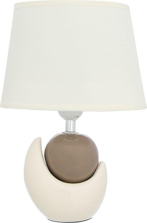 Настольная лампа Elan Gallery Мечта, цвет: кремовый, E27, 13 Вт. 320067320067Настольная лампа Мечта, с кремовым овальным абажуром, основание - керамика. Настольная лампа в современном стиле на изящной подставке. Станет прекрасным подарком иукрасит любой интерьер! Предназначен для работы в сети с напряжением 220-230 В.Используются лампы накаливания (40 Вт) и энергосберегающие лампы (9-13 Вт) Размеры: Длина 20,5 см Ширина 12 см Высота 30,5 см