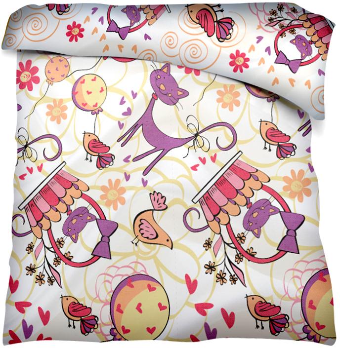Пододеяльник Bonne Fee Котик, 110 х 140 смОЗКБПД-1,5/19Детский пододеяльник Bonne Fee прекрасно подойдет для одеяла вашего малыша и обеспечитему крепкий и здоровый сон. Изготовленный из натуральной бязи, он необычайно мягкий иприятный на ощупь. Натуральный материал не раздражает даже самую нежную и чувствительнуюкожу ребенка, обеспечивая ему наибольший комфорт. Приятный рисунок, несомненно, понравитсямалышу и привлечет его внимание. Уход: ручная или машинная стирка в воде до 40°С, пристирке не использовать средства, содержащие отбеливатели, гладить при температуре до 150° С, химическая чистка не допустима, бережный режим электрической сушки.