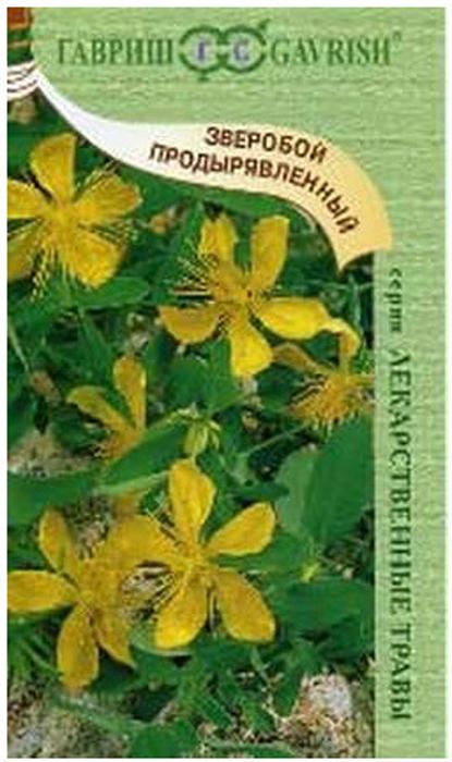 Семена Гавриш Зверобой продырявленный. Солнечный4601431008397Многолетнее травянистое растение семейства Зверобойные, высотой 80-90 см.Цветки крупные, золотисто-желтые, собраны в широкометельчатое соцветие. Цветет в июне - августе, плодоносит в августе - сентябре. Размножается семенами, которые сеют непосредственно в грунт. Он предпочитает хорошо удобренные почвы. Семена сеют в рыхлую почву под зиму или ранней весной. Надземную массу убирают в период массового цветения.Сырье сушат под навесом в сухом хорошо проветриваемом помещении или в сушилках. Зверобой с давних пор является народным средством, которое завоевало признание и в научной меди. Обращаем ваше внимание на то, что упаковка может иметь несколько видов дизайна.