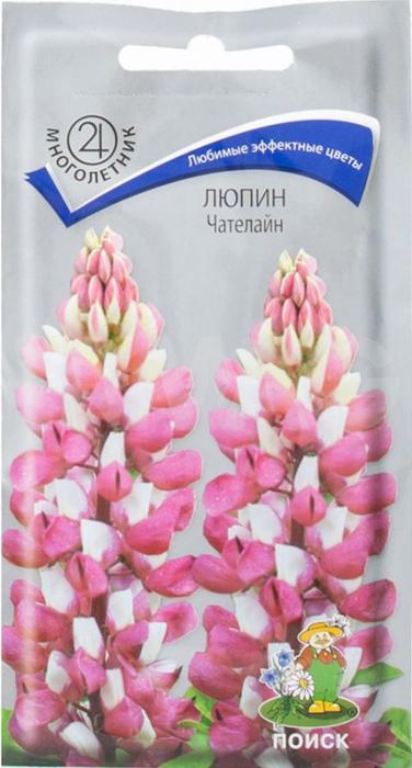 Семена Алтая Люпин. Чателайн4630043109628 Уважаемые клиенты! Обращаем ваше внимание на то, что упаковка может иметь несколько видов дизайна. Поставка осуществляется в зависимости от наличия на складе.
