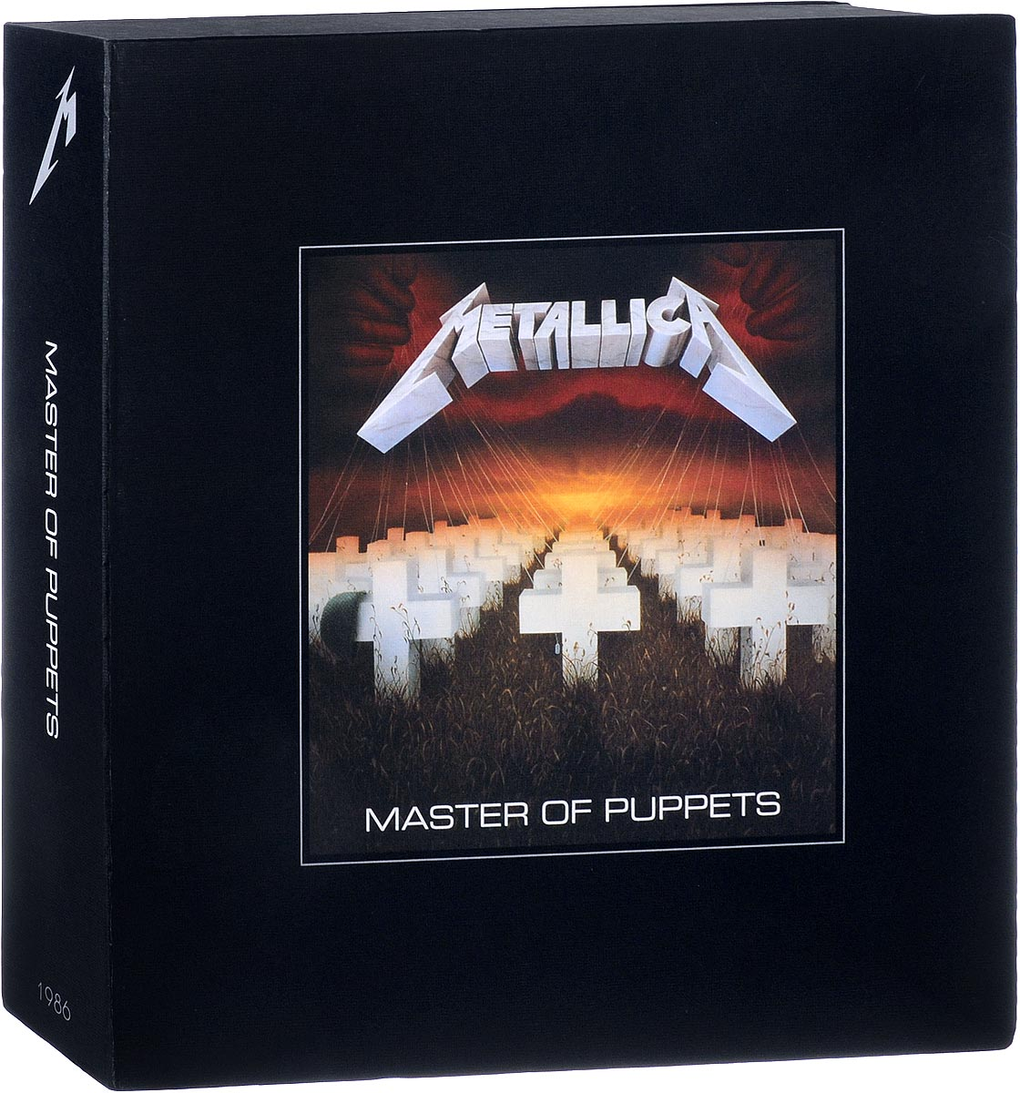 Metallica Metallica. Master Of Puppets (10 CD + 3 LP + 2 DVD) metallica metallica  reload  2 lp