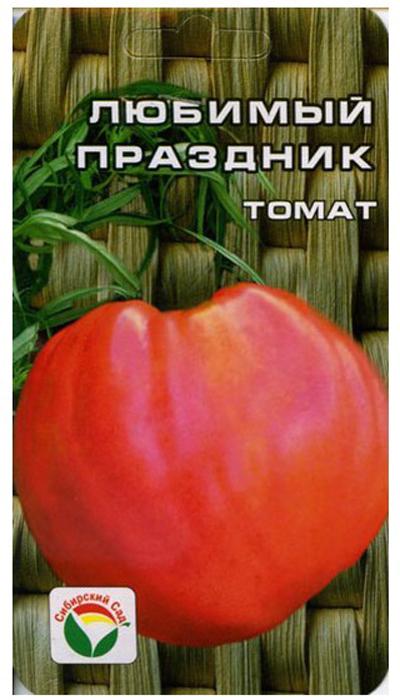 Семена Сибирский сад Томат. Любимый праздник, 20 шт7930041232456Сорт характеризуется стабильно высокими урожаями в независимости отпогодных условий. Среднеспелый детерминантный сорт сибирской селекции с особо крупнымиплодами. Растение мощное, высотой 80 см. Плоды почковидной формы, густо- розового цвета, огромного размера, массой 900-1300 г. Прекрасно подходят дляпотребления в свежем виде и зимних заготовок. Сорт характеризуется стабильновысокими урожаями в независимости от погодных условий. При высадке в грунтна 1 кв. м высаживается 3 растения. Выращивается в 2-3 стебля с подвязкой.Уважаемые клиенты! Обращаем ваше внимание на то, что упаковка может иметьнесколько видов дизайна. Поставка осуществляется в зависимости от наличия наскладе.