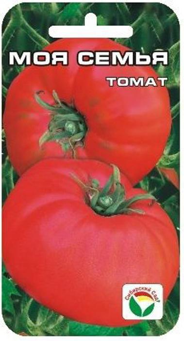 Семена Сибирский сад Томат. Моя семья7930041231329Новый томат сибирской селекции с крупными, потрясающе вкусными плодами, обладающими сахаристой мякотью, с очень малым количествомсемян и великолепным ароматом. Среднеспелый сорт для открытого грунта и пленочных укрытий. Растение детерминантного типа, высотой 70-80см. Плоды плоско- округлой формы, слаборебристые, весом около 400 г (первые достигают веса 600 г), малиново-розового цвета. Требуетумеренного пасынкования, устойчив к основным заболеваниям томатов. Ценность сорта: высокая урожайность, прекрасные вкусовые итоварные качества. Пригоден для употребления в свежем виде, домашней кулинарии и рыночных продаж. При высадке в грунт на 1 квадратный метр размещают3-4 растения. Для получения наиболее крупных плодов требуется своевременное пасынкование.