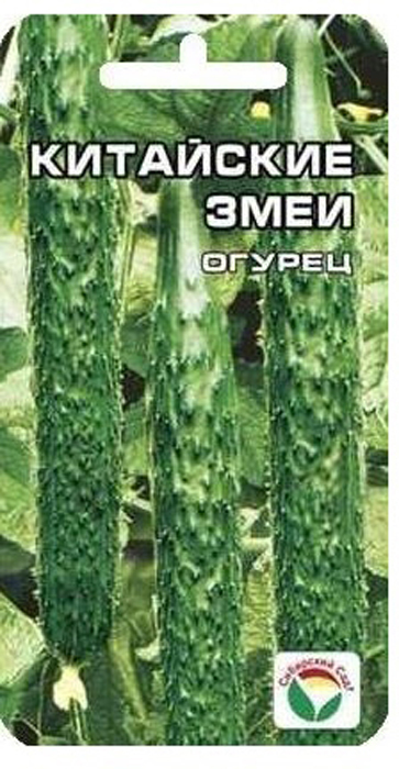 Семена Сибирский сад Огурец. Китайский змей7930041232456Необычный раннеспелый сорт. Формирует длинные, тонкие, слегка извилистыеплоды длиной до 60 см. Огурцы очень сладкие, семечки мелкие, нежные, почтинезаметные, кожица тонкая, не твердеет. Сорт незаменим как источник раннегоурожая, прекрасно подходит для приготовления малосольных огурчиков.Плодоношение длительное. Достаточная устойчивость к основным заболеваниямогурца. Общая урожайность высокая. Посев на глубину 1,5-2 см. Плотность посадки - три растения на 1 м2. Укрываютпленкой, привязывают к шпалере.Уважаемые клиенты! Обращаем ваше внимание на то, что упаковка может иметь несколько видов дизайна. Поставка осуществляется взависимости от наличия на складе.