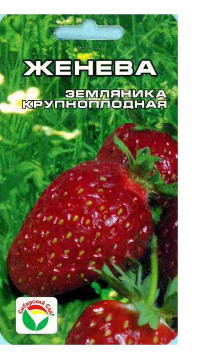 Семена Сибирский сад Клубника. Женева7930041233965