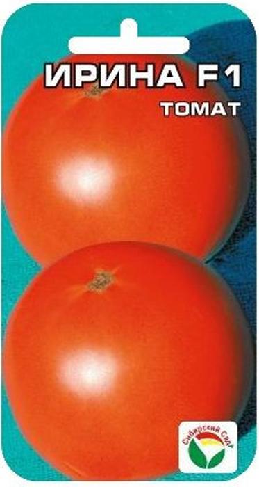 Семена Сибирский сад Томат. Ирина F17930041234153 Уважаемые клиенты! Обращаем ваше внимание на то, что упаковка может иметь несколько видов дизайна. Поставка осуществляется в зависимости от наличия на складе.