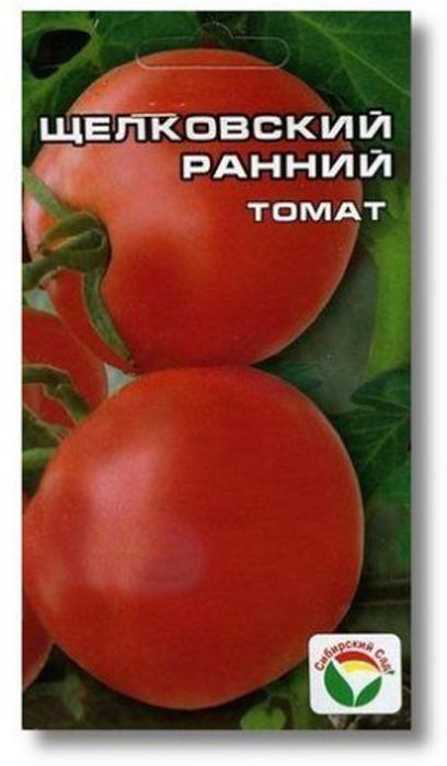 Семена Сибирский сад Томат. Щелковский ранний7930041234597Растение компактное, высотой 30-35 см. Не требует пасынкования. Плод без зеленого пятна у плодоножки, массой 40-60 г, хороших вкусовыхкачеств. Использование - универсальное. Отличается быстрой и дружной отдачей урожая. Пригоден для загущенной посадки и для прямогопосева в грунт с середины мая. Для получения рассады семена сеют в конце марта на глубину 1-2 см. Сеянцы пикируют на глубину 5 см в фазе 2- 3 настоящих листьев после обильного полива. В мае рассаду высаживают в обогреваемые пленочные теплицы, укрытия и парники в лунки,заглубляя главный стебель на 10-12 см. Уход за растениями заключается в поливах по мере необходимости (особенно важно поливать томатперед цветением, с появлением завязей и в начале созревания плодов), частых прополках и рыхлении, а также подкормках.Уважаемые клиенты! Обращаем ваше внимание на то, что упаковка может иметь несколько видов дизайна. Поставка осуществляется взависимости от наличия на складе.