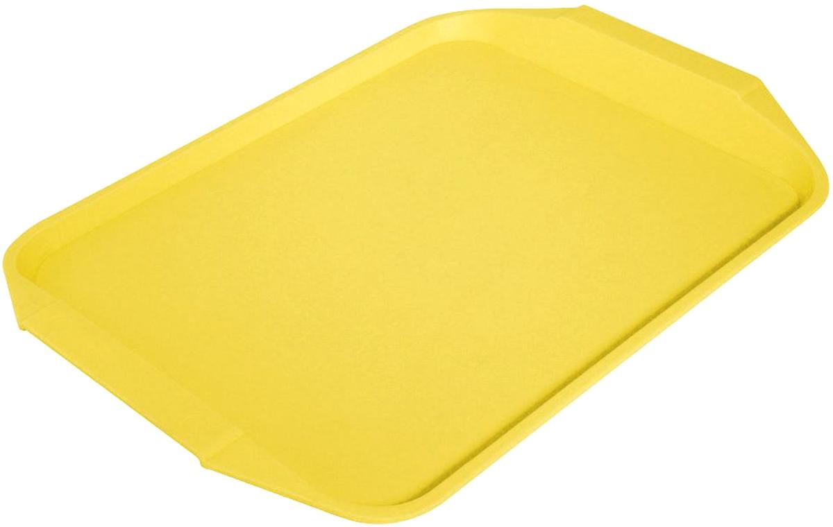 Поднос Мартика, 30 х 43 см, цвет: желтый. С48ЖЕЛС48ЖЕЛИзделие выполнено с соблюдением необходимых требований к качеству и безопасности, включая санитарные, которые предъявляются к пластиковой продукции. Удобно в обращении. Имеет яркие цвета, привлекательный современный дизайн и высокий запас прочности.