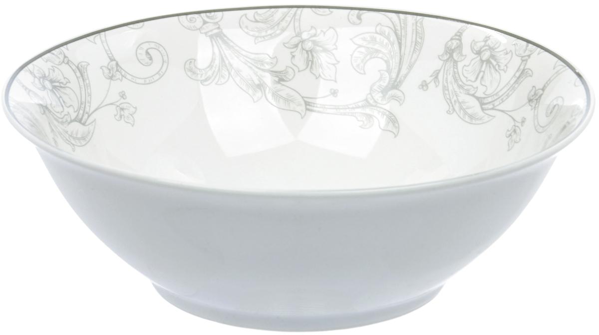 Салатница Dasen Классика, диаметр 18 смDNNB0001-6Фарфор производства Dasen - это достаточно изысканная столовая посуда с качественным белым основанием и круговой деколью весьма тонкой работы. Без сомнения, это посуда премиум-класса, которая имеет свое неповторимое тонкое звучание и любит свет. Подглазурные деколи надежно защищены глазурью, придающей посуде особый блеск, традиционный для костяного фарфора. Посуду Dasen можно использовать в СВЧ и мыть в ПММ.