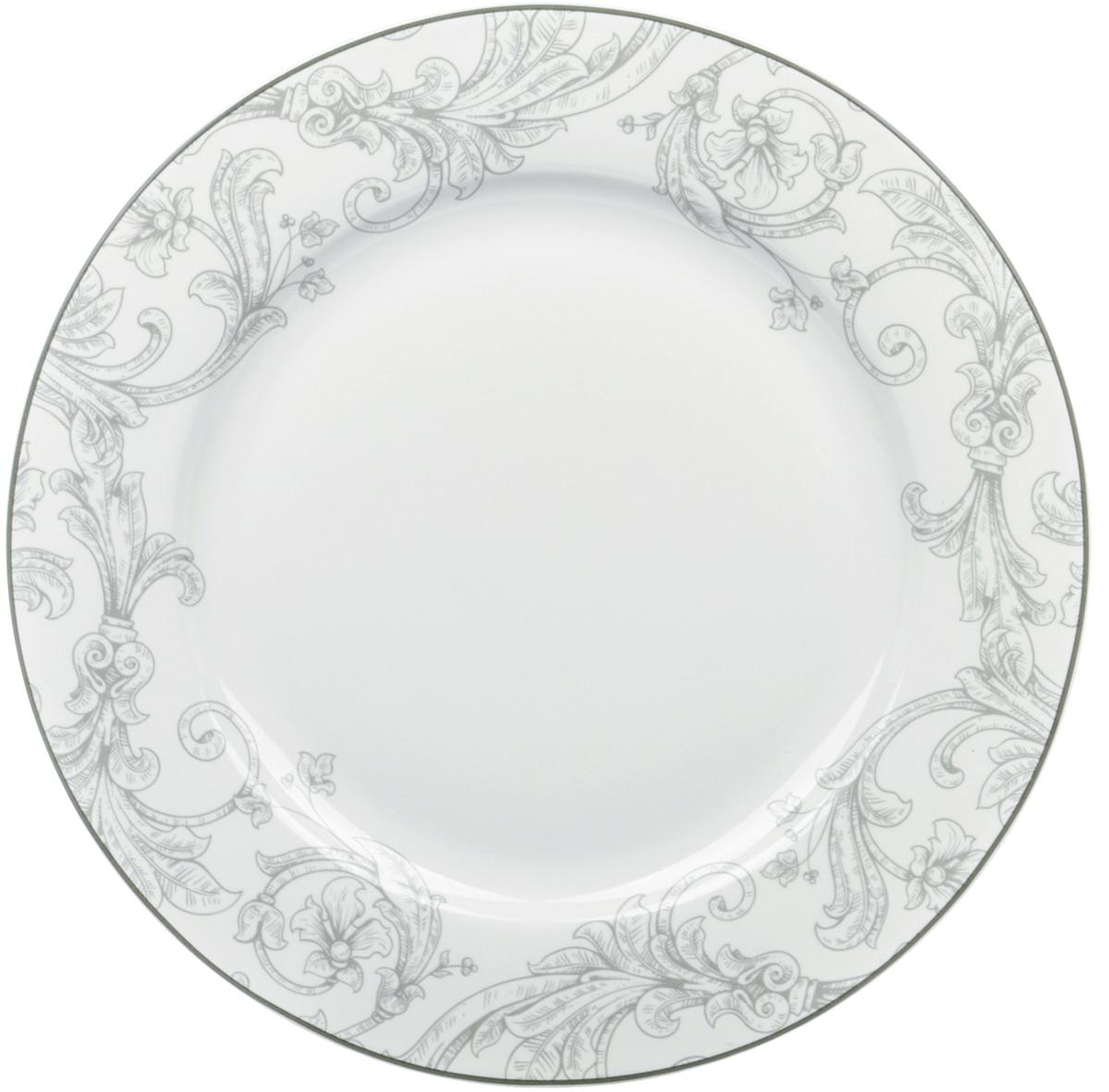 Тарелка обеденная Dasen Классика, диаметр 23 смDNNB0001-2Тарелка Dasen Классика изготовлена из высококачественного фаянса.Предназначена длякрасивой подачи различных блюд. Изделие декорировано изящным рисунком.Такая тарелка украсит сервировку стола и подчеркнет прекрасный вкус хозяйки.Она дополнит коллекцию вашей кухонной посуды и будет служить долгие годы. Можно мыть в посудомоечной машине и использовать в СВЧ-печи.