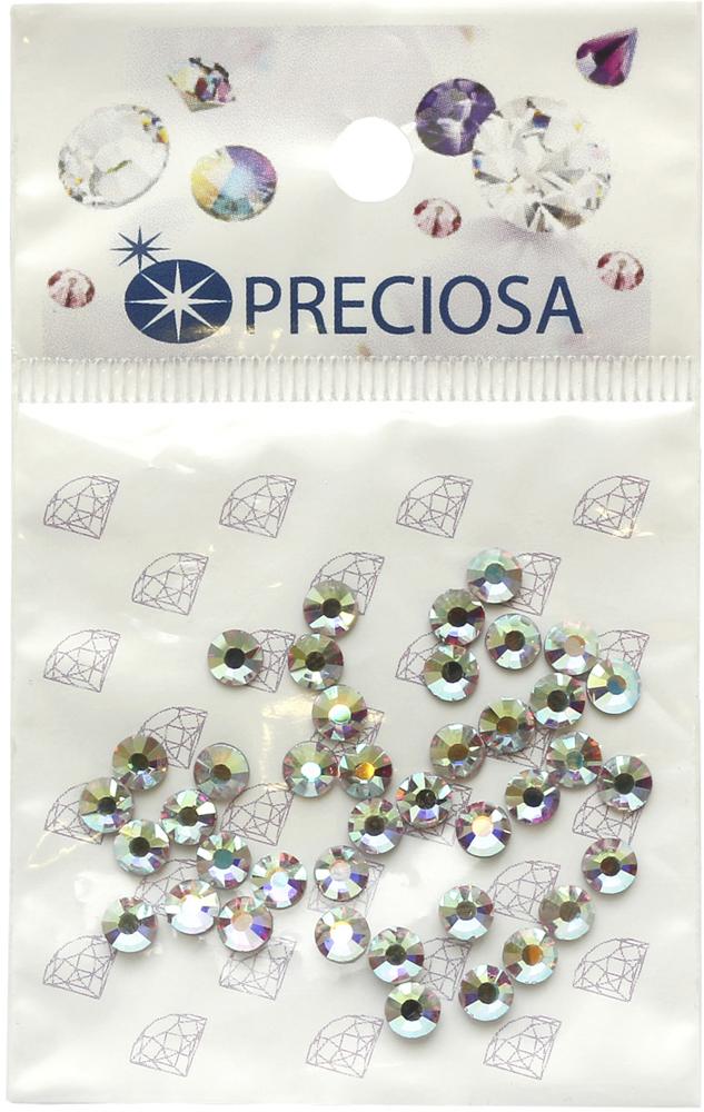 Стразы термоклеевые Preciosa Crystal AB SS16,цвет: перламутровый, 40 шт551772Стразы Preciosa на сегодняшний день – один из лучших мировых производителей изделий из хрусталя. Продукция этой компании широко известна и любима во всем мире. А благодаря своей особой технологии производства, отличной от технологии Swarovski, получаются шикарные и роскошные изделия, внешне аналогичные изделиям из настоящих драгоценных камней.