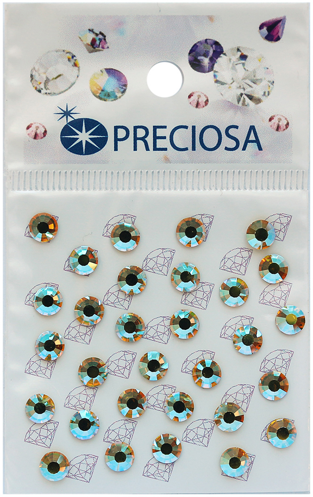 Стразы термоклеевые Preciosa Citrine AB SS20, 30 шт551779Стразы Preciosa на сегодняшний день – один из лучших мировых производителей изделий из хрусталя. Продукция этой компании широко известна и любима во всем мире. А благодаря своей особой технологии производства, отличной от технологии Swarovski, получаются шикарные и роскошные изделия, внешне аналогичные изделиям из настоящих драгоценных камней.