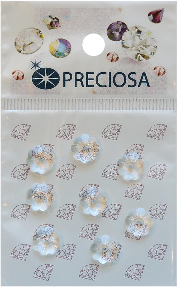 Стразы пришивные Preciosa Цветок Crystal, 1 отверстие, 8 мм, 8 шт551789Стразы Preciosa на сегодняшний день – один из лучших мировых производителей изделий из хрусталя. Продукция этой компании широко известна и любима во всем мире. А благодаря своей особой технологии производства, отличной от технологии Swarovski, получаются шикарные и роскошные изделия, внешне аналогичные изделиям из настоящих драгоценных камней.