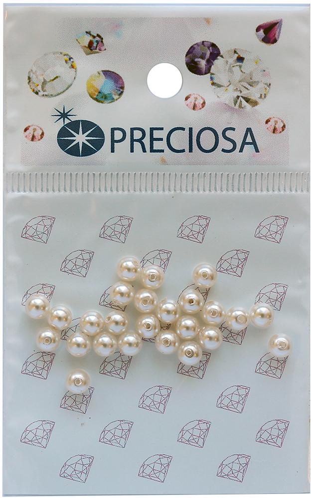 Хрустальный жемчуг Preciosa White, 4 мм, 25 шт хрустальный жемчуг preciosa white 4 мм 25 шт