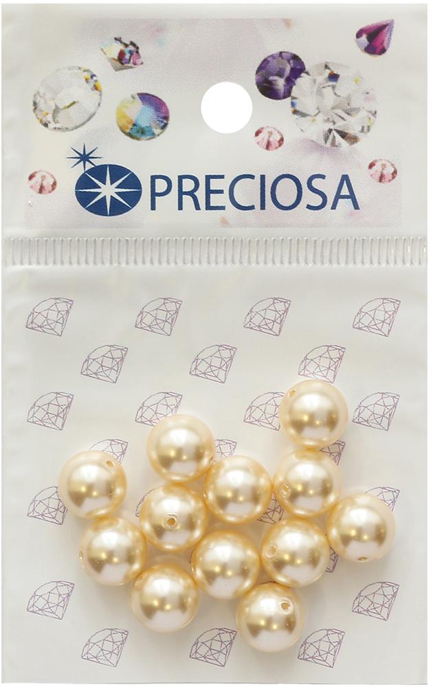 Хрустальный жемчуг Preciosa Cream, 8 мм, 12 шт хрустальный жемчуг preciosa white 4 мм 25 шт