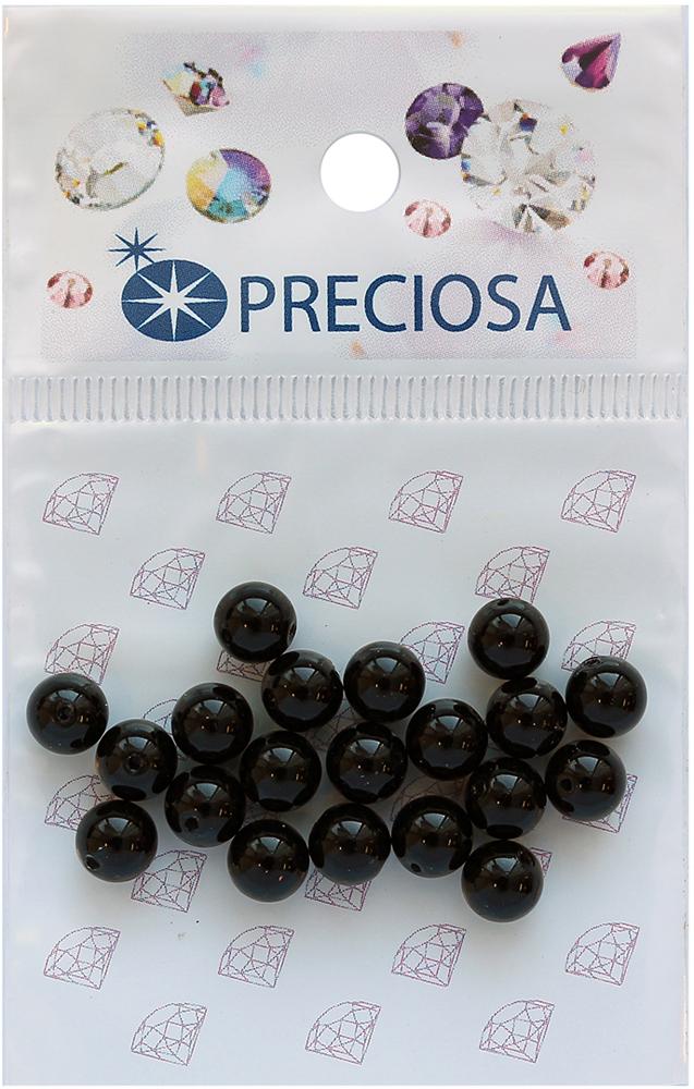 Хрустальный жемчуг Preciosa Magic Black, 6 мм, 20 шт551808Хрустальный жемчуг Preciosa позволит вам своими руками создать оригинальные ожерелья, бусы или браслеты. Он идеально подойдет для вышивания на предметах быта и женской одежде. Жемчуг чешского производства Preciosa обладает высоким качеством, однороден по форме и размеру, откалиброван.