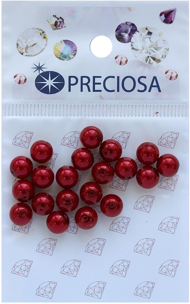 Хрустальный жемчуг Preciosa Red, 6 мм, 20 шт551815Хрустальный жемчуг Preciosa позволит вам своими руками создать оригинальные ожерелья, бусы или браслеты. Он идеально подойдет для вышивания на предметах быта и женской одежде. Жемчуг чешского производства Preciosa обладает высоким качеством, однороден по форме и размеру, откалиброван.