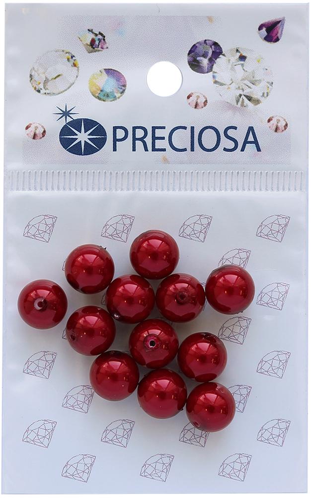 Хрустальный жемчуг Preciosa Red, 8 мм, 12 шт551817Хрустальный жемчуг Preciosa позволит вам своими руками создать оригинальные ожерелья, бусы или браслеты. Он идеально подойдет для вышивания на предметах быта и женской одежде. Жемчуг чешского производства Preciosa обладает высоким качеством, однороден по форме и размеру, откалиброван.