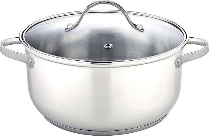 Кастрюля HiTT Bravo, с крышкой, 2,9 лH07209Кастрюля HiTT Bravo изготовлена из коррозионностойкой стали. Такое покрытие прекрасно подходит для приготовления супов, жарки, пассировки и тушения, в посуде можно приготовить разнообразные блюда из мяса, рыбы, птицы и овощей. Готовое блюдо получится не только вкусным, но и полезным. Кастрюля оснащена крышкой из жаропрочного стекла со стальным ободом, имеет пластиковые ручки и отверстие для вывода пара. Теплоемкое капсульное дно долго сохраняет тепло.