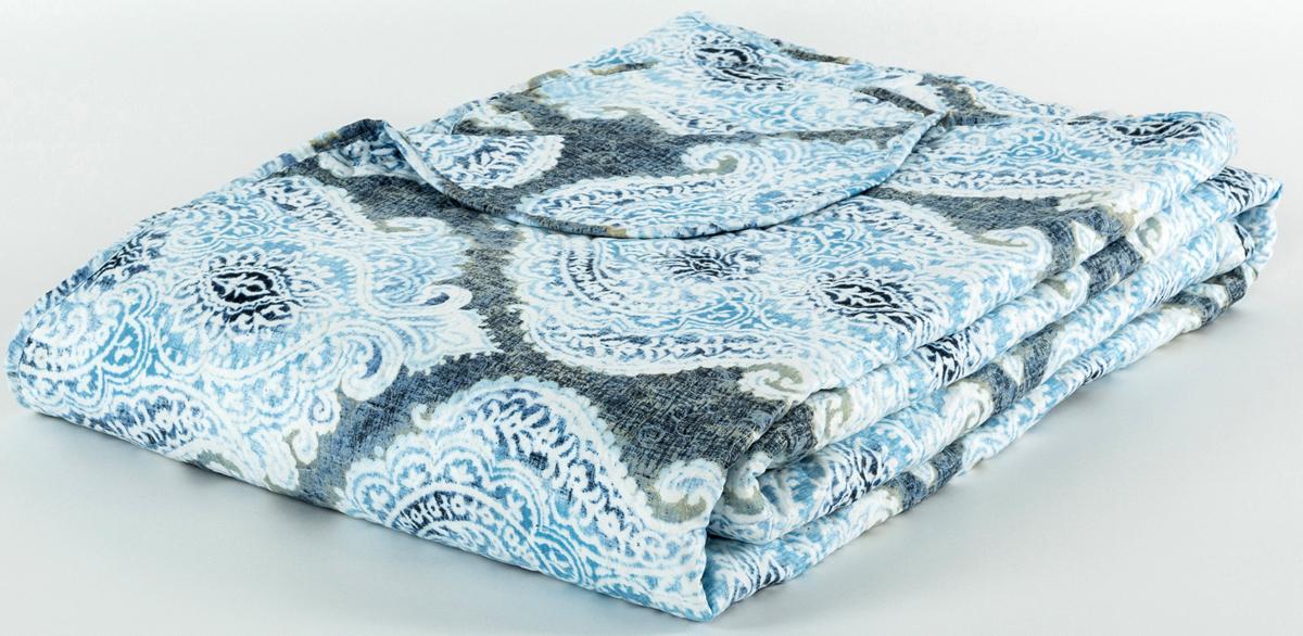 Покрывало Cozy Home Сицилия, стеганое, цвет: синий, 160 х 220 см404802Стежка на покрывалах и пледах позволяет не только зафиксировать наполнитель и подкладку, но также может стать дополнительным украшением изделия.Высокое качество и оригинальный дизайн без ущерба для бюджета.