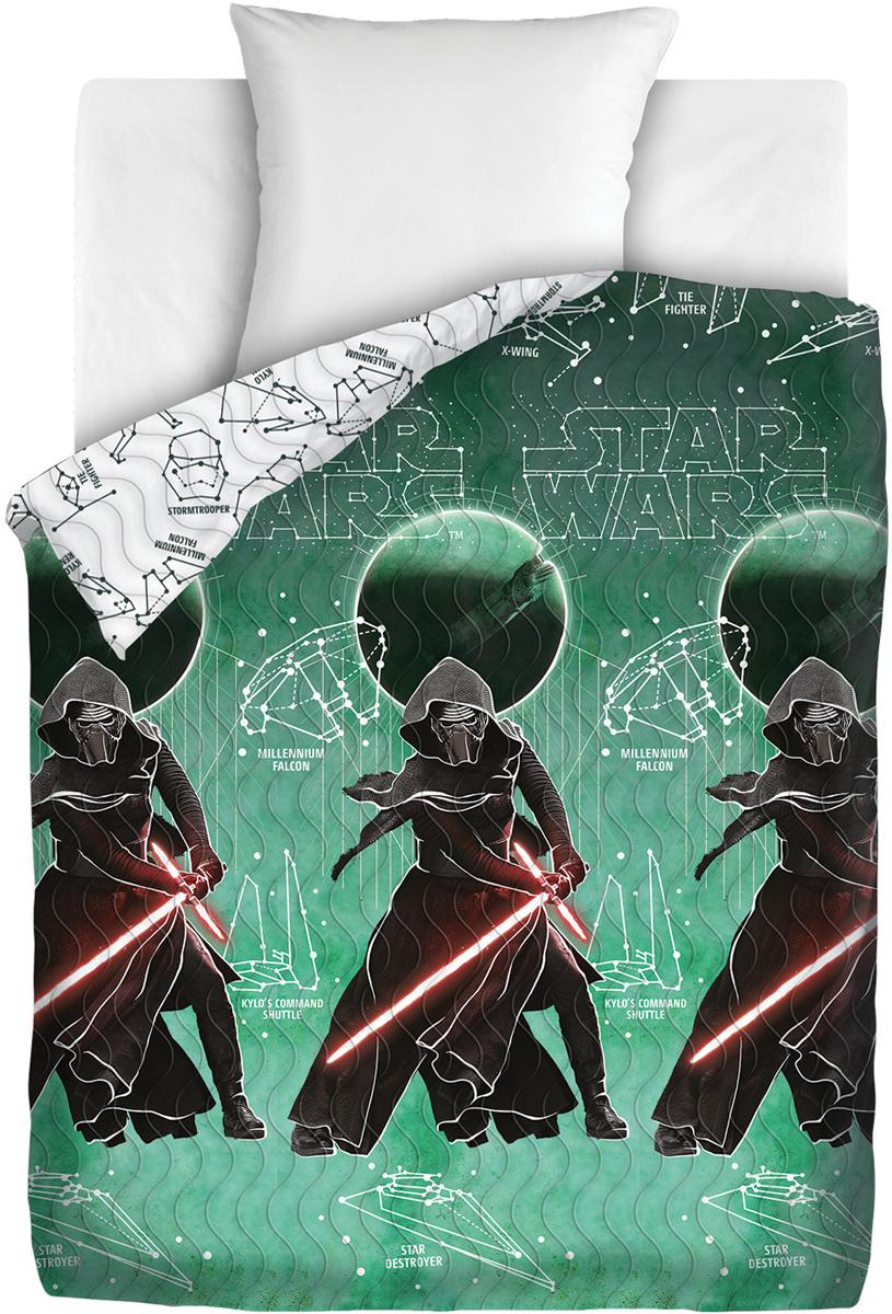 Покрывало Непоседа Star Wars. Созвездие, стеганое, 145 х 200 см покрывало детское непоседа непоседа покрывало star wars стеганое чубакка