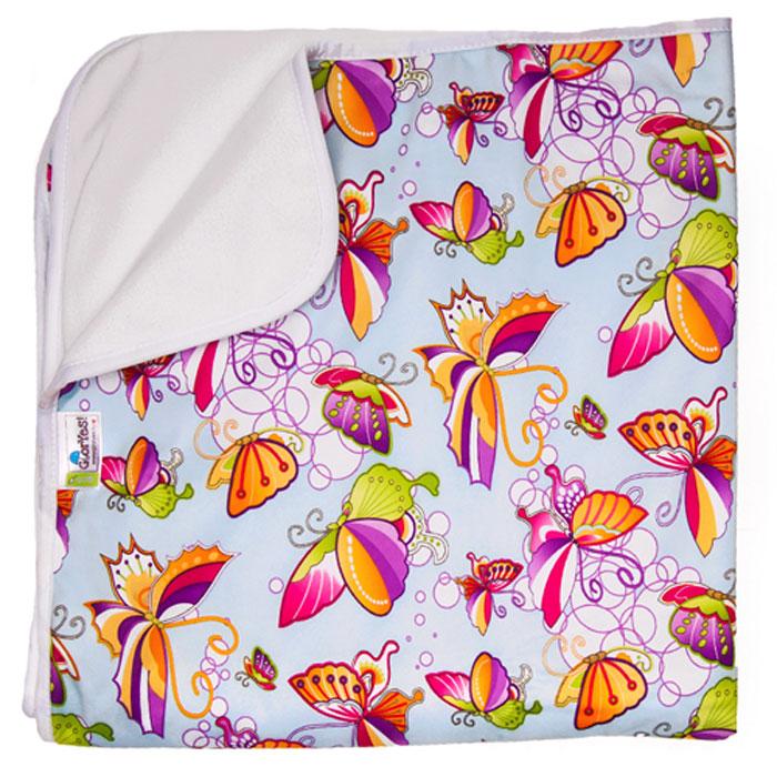 GlorYes! Впитывающая пеленка Бабочки 120 х 100 см - Подгузники и пеленки