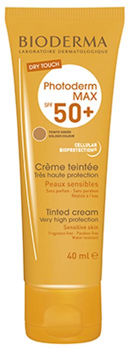 Bioderma Тональный крем SPF 50+ Photoderm Max, 40 мл28550Максимально эффективное сочетание фильтров анти-УФА и анти-УФВ в Фотодерм МАХ Тональном креме надежно защищают от солнечного ожога, предупреждают непереносимость солнечных лучей и борются с преждевременным старением кожи. Уменьшая риск повреждения клеток, запатентованный комплекс Клеточная Биозащита, обеспечивает оптимальную защиту структур клетки от агрессивных воздействий. Натуральный оттенок Фотодерм MAX Тонального крема уменьшает видимые дефекты и выравнивает цвет лица.