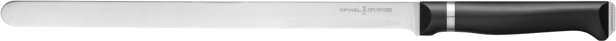 Нож кухонный Opinel Intempora, длина лезвия 30 см1485Нож Opinel Intempora для карпаччо и сыров. Он выполнен из нержавеющей стали с эргономичной рукояткой из полимера.
