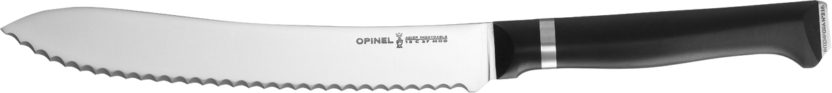 Нож для хлеба Opinel Intempora, длина лезвия 21 см1537Нож Opinel Intempora создан специально для хлеба. С его помощью можно нарезать идеальными кусочками любой хлеб: мягкий и воздушный или с хрустящей корочкой.