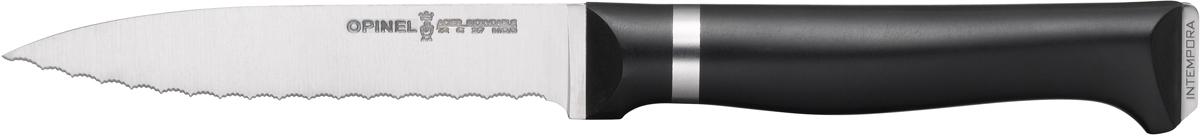 Нож кухонный Opinel Intempora, длина лезвия 10 см1Нож Opinel Intempora незаменим для приготовления завтрака. Он подходит для мягких фруктов и овощей, а также для измельчения яиц, сваренных вкрутую.