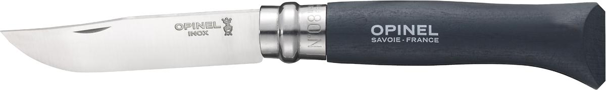 Нож складной Opinel Origins, цвет: серебристый, длина лезвия 8 см1706Opinel Origins - классический складной нож с лезвием из модифицированной нержавеющей стали Sandvik 12C27. Короткий и острый клинок подходит для самых разных целей. Рукоятка выполнена из натурального дерева. Складной нож оснащен уникальным кольцевым фиксатором. С его помощью можно зафиксировать клинок как в открытом состоянии, так и в закрытом для безопасности использования и транспортировки.
