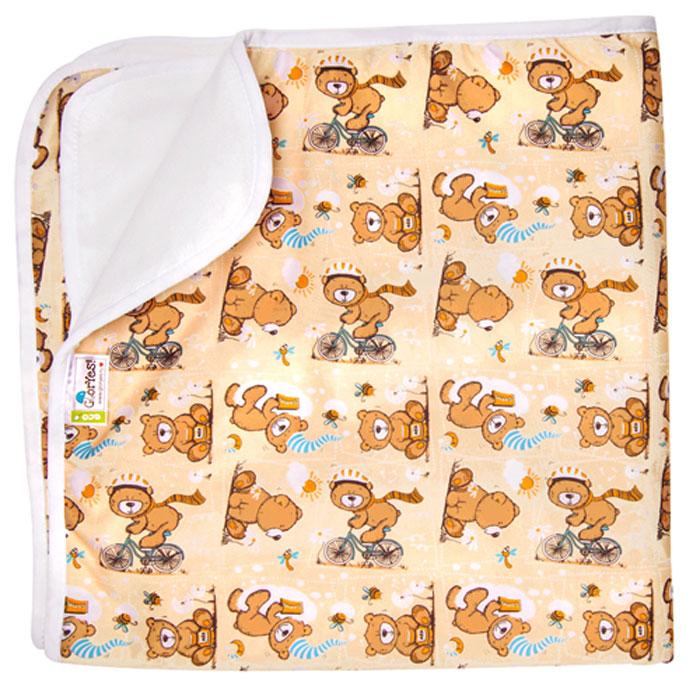 GlorYes! Впитывающая пеленка Медвежонок 80 х 68 см - Подгузники и пеленки
