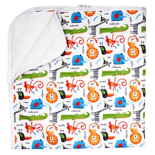 GlorYes! Впитывающая пеленка Сафари 80 х 68 см, Подгузники и пеленки  - купить со скидкой