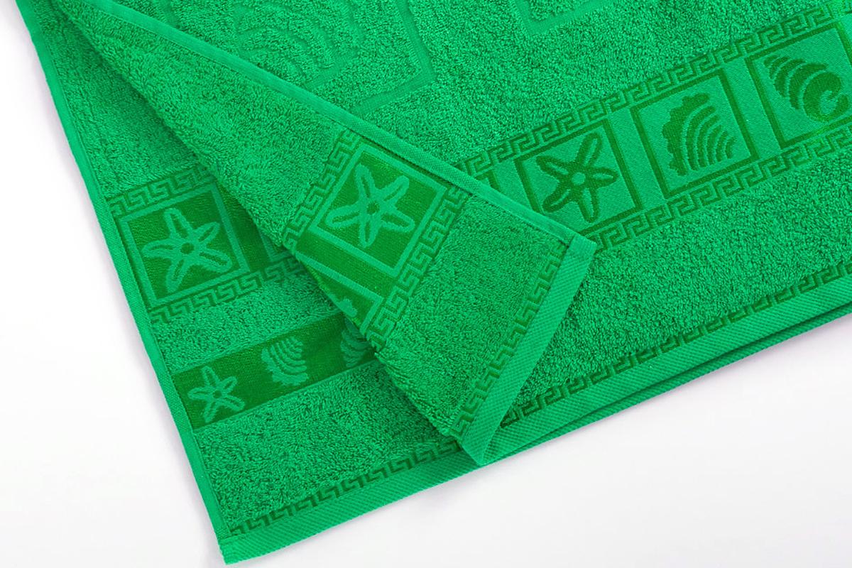Полотенце махровое Португалия Shell, цвет: салатовый, 70 x 140 см439264Махровые полотенца Португалия производятся из 100% хлопка - экологически чистого природного материала. Мягкое, легкое на ощупь, оно не намокает, а впитывает влагу, очень быстро сохнет.