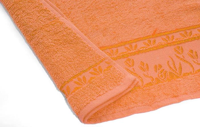 Полотенце махровое Португалия Tulip, цвет: оранжевый, 33 x 70 см439268Махровые полотенца Португалия производятся из 100% хлопка - экологически чистого природного материала. Мягкое, легкое на ощупь, оно не намокает, а впитывает влагу, очень быстро сохнет.