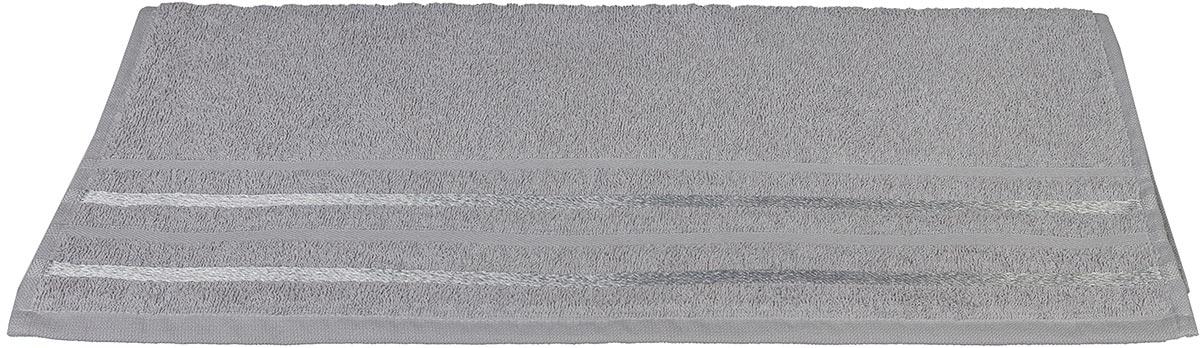 Полотенце махровое Hobby Home Collection Nisa, цвет: светло-серый, 50 х 90 см