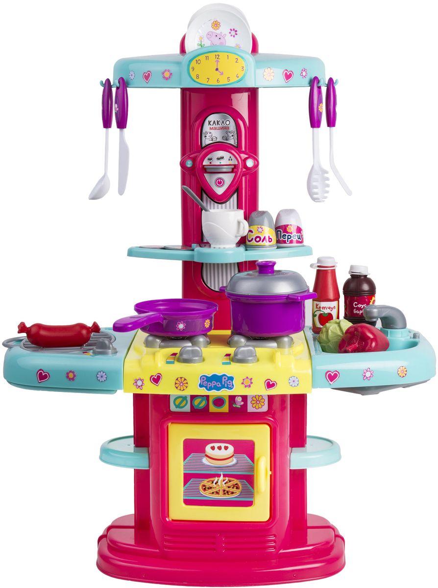 Peppa Pig Игровой набор Кухня Пеппы peppa pig игровой набор дом пеппы с садом 31611