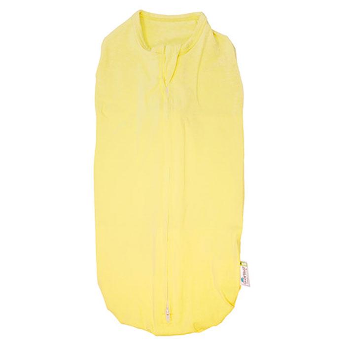 GlorYes! Пеленка-кокон 0-3,5 месяцев цвет желтый слингобусы gloryes василек