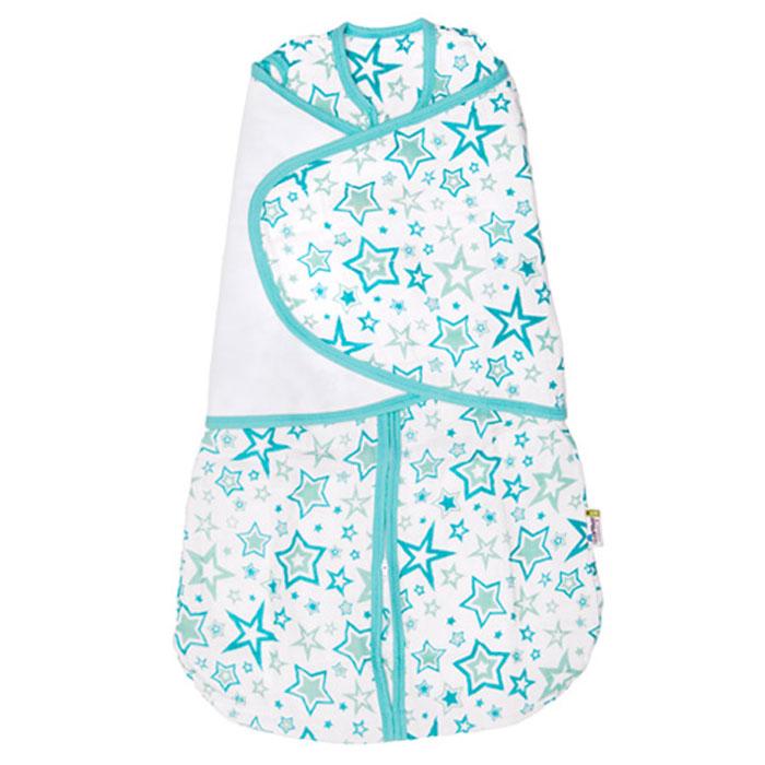 GlorYes! Спальный мешок 2 в 1 Голубые звезды 3-9 месяцев слингобусы gloryes ландыш