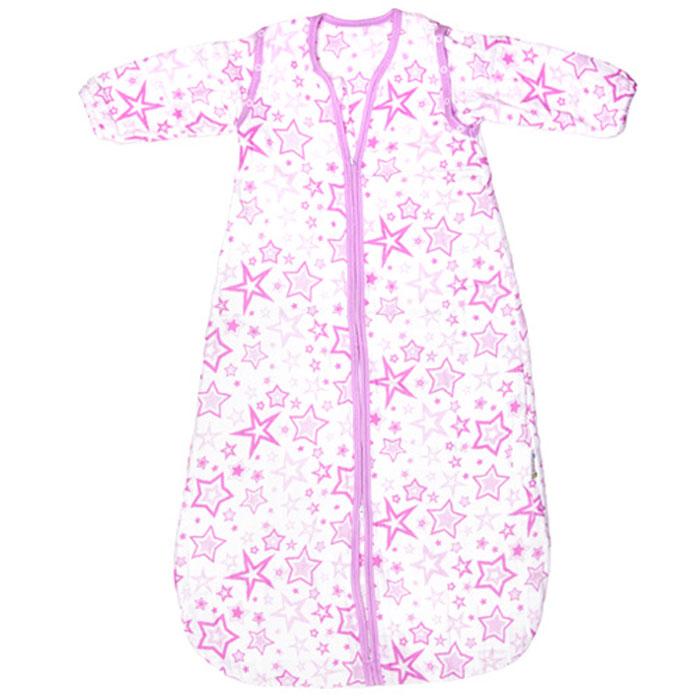 GlorYes! Спальный мешок Розовые звезды 9 месяцев-2,5 года слингобусы gloryes ландыш