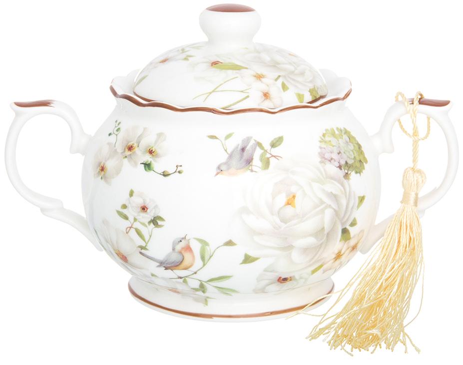 Сахарница Elan Gallery Дикая роза, 380 мл чайники заварочные elan gallery чайник дикая роза
