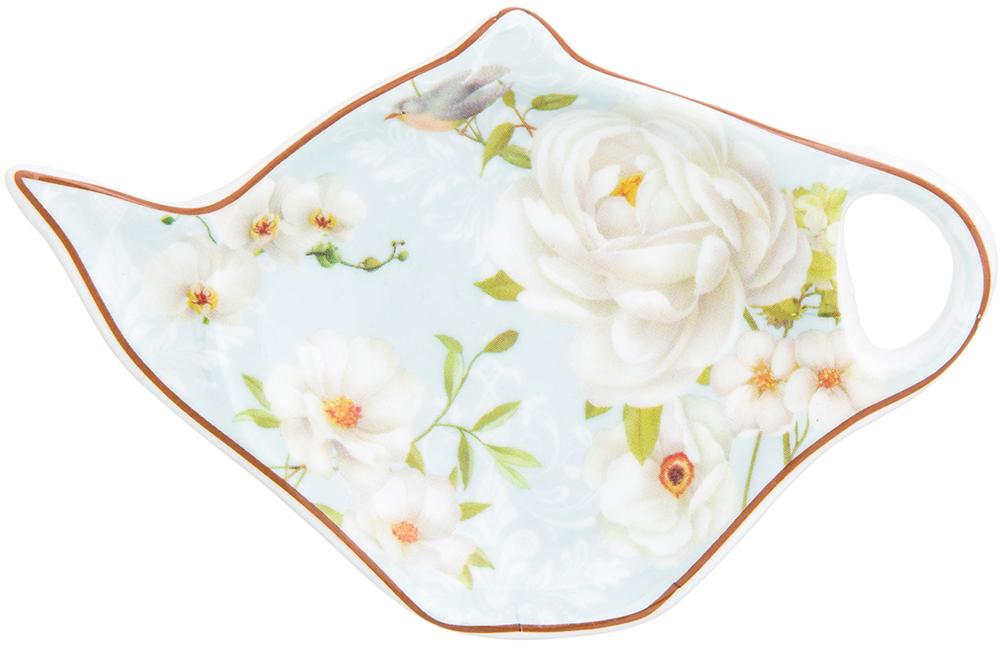подставка под чайные пакетики Elan Gallery Дикая роза чайники заварочные elan gallery чайник дикая роза