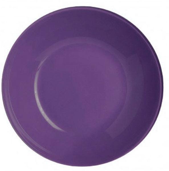 Тарелка суповая Luminarc Arty Parme, диаметр 20 смL1055Суповая тарелка Luminarc Arty Parme выполнена из ударопрочного стекла и имеет изысканный внешний вид. Изделие сочетает в себе изысканный дизайн с максимальной функциональностью. Она прекрасно впишется в интерьер вашей кухни и станет достойным дополнением к кухонному инвентарю. Тарелка Luminarc Arty Parme подчеркнет прекрасный вкус хозяйки и станет отличным подарком. Бренд Luminarc - это один из лидеров мирового рынка по производству посуды и товаров для дома. В основе процесса изготовления лежит высококачественное сырье, а также строгий контроль качества. Товары для дома Luminarc уважают и ценят во всем мире, а многие эксперты считают данного производителя эталоном совершенства. Диаметр тарелки: 20 см.Высота тарелки: 4,5 см.