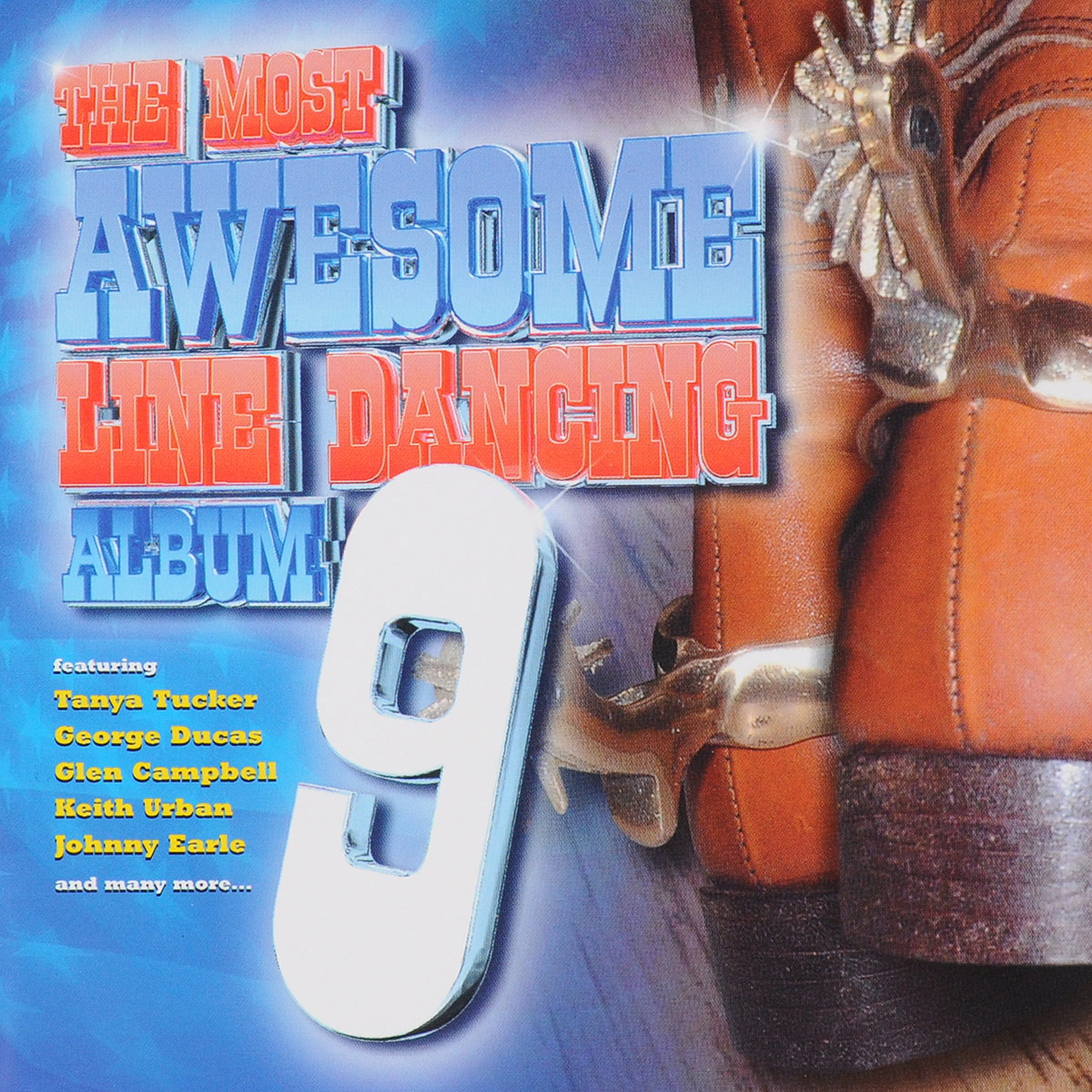 VARIOUS ARTISTS. THE MOST AWESOME LINE DANCE ALBUM 9